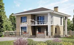 180-015-L Two Story House Plans, modern Home House,