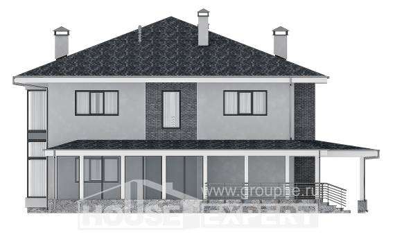 250-004-L Two Story House Plans, classic House Plans, House Expert