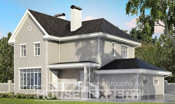 190-001-L Two Story House Plans with garage, best house Blueprints,