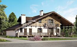 320-002-R Two Story House Plans with mansard roof, a huge Drawing House,