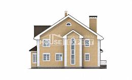 320-003-L Two Story House Plans, cozy House Plan,