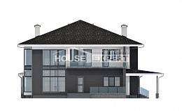 245-002-R Two Story House Plans and garage, best house Design House,