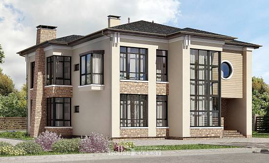 300-005-L Two Story House Plans, spacious Architects House,