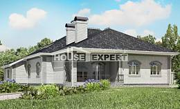 385-001-R Two Story House Plans with mansard with garage in back, classic Architect Plans,