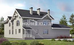 340-004-R Two Story House Plans, modern Architects House,