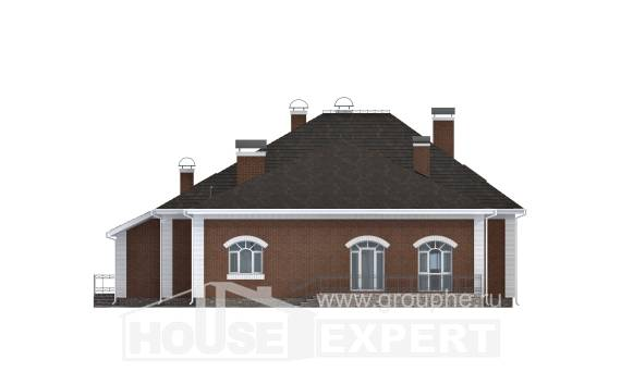 400-003-R Two Story House Plans with mansard, a huge Online Floor,