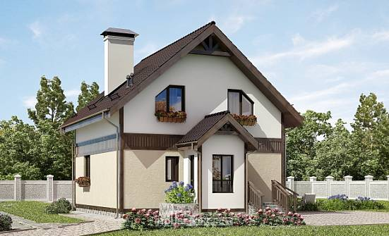 105-001-R Two Story House Plans and mansard, best house Building Plan, House Expert
