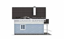 095-002-R Two Story House Plans and mansard, beautiful Planning And Design,