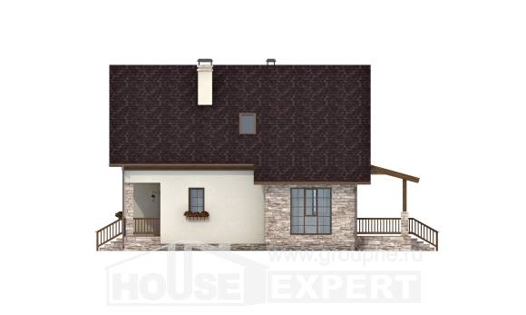 140-001-R Two Story House Plans and mansard, available Blueprints,