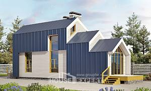 060-006-R Two Story House Plans and mansard, classic Drawing House