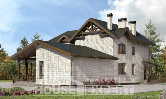 340-004-L Two Story House Plans, spacious House Plans,