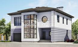 300-006-L Two Story House Plans with garage under, beautiful Plans To Build,