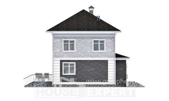 090-003-R Two Story House Plans, modest Plans To Build
