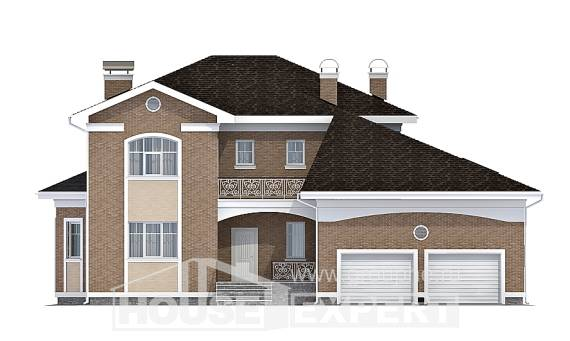335-002-R Two Story House Plans and garage, classic Online Floor,