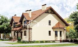 240-001-R Two Story House Plans, spacious Custom Home, House Expert