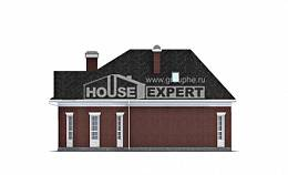 290-002-R Two Story House Plans with garage under, spacious Dream Plan, House Expert