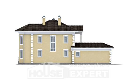 150-006-L Two Story House Plans with garage under, available House Building,