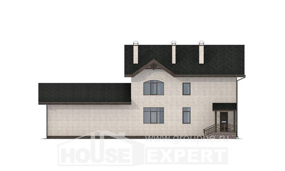340-004-L Two Story House Plans, a huge Dream Plan,