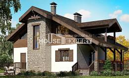 150-004-L Two Story House Plans with mansard roof, classic Plans Free,