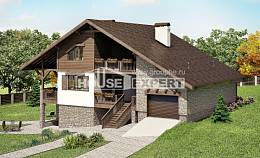 300-003-R Three Story House Plans and mansard with garage in back, big Floor Plan,