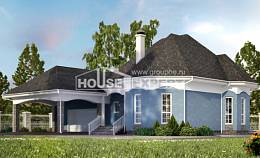 180-007-L Two Story House Plans and mansard with garage, available Home Plans,