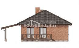 070-006-L One Story House Plans, compact House Online, House Expert