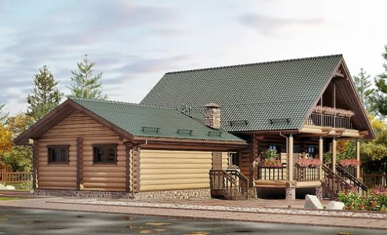 270-002-R Two Story House Plans and mansard with garage in back, best house Custom Home Plans Online,