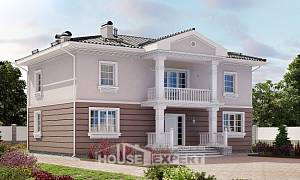210-005-R Two Story House Plans, average Blueprints of House Plans