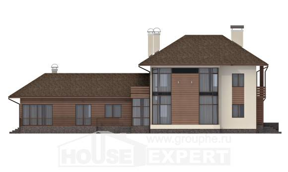 300-001-R Two Story House Plans, classic Woodhouses Plans,