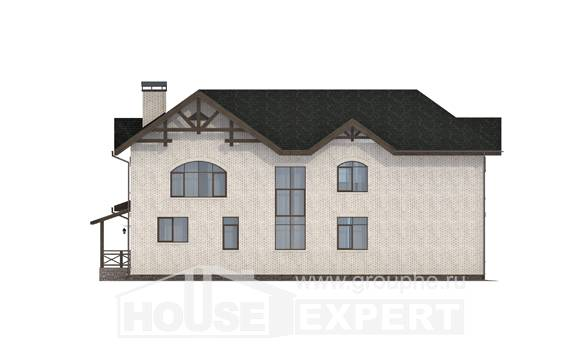 340-004-L Two Story House Plans, classic Dream Plan,