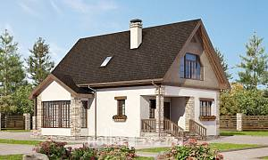 140-002-L Two Story House Plans with mansard roof, beautiful Home House