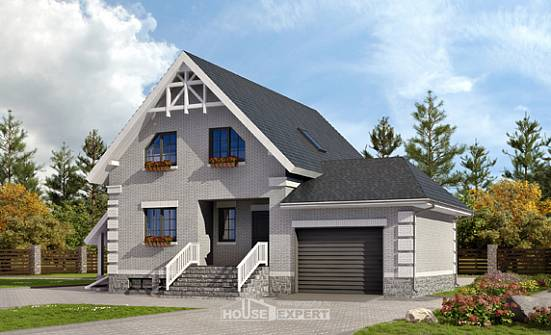 200-009-R Three Story House Plans with mansard with garage in front, spacious Design Blueprints,