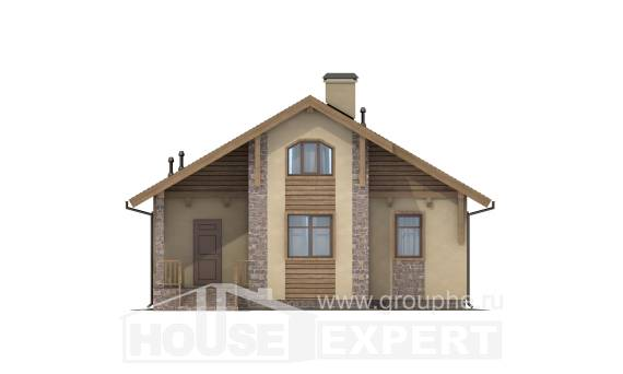 080-002-R One Story House Plans, a simple Construction Plans,