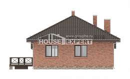 070-006-L One Story House Plans, compact Tiny House Plans, House Expert