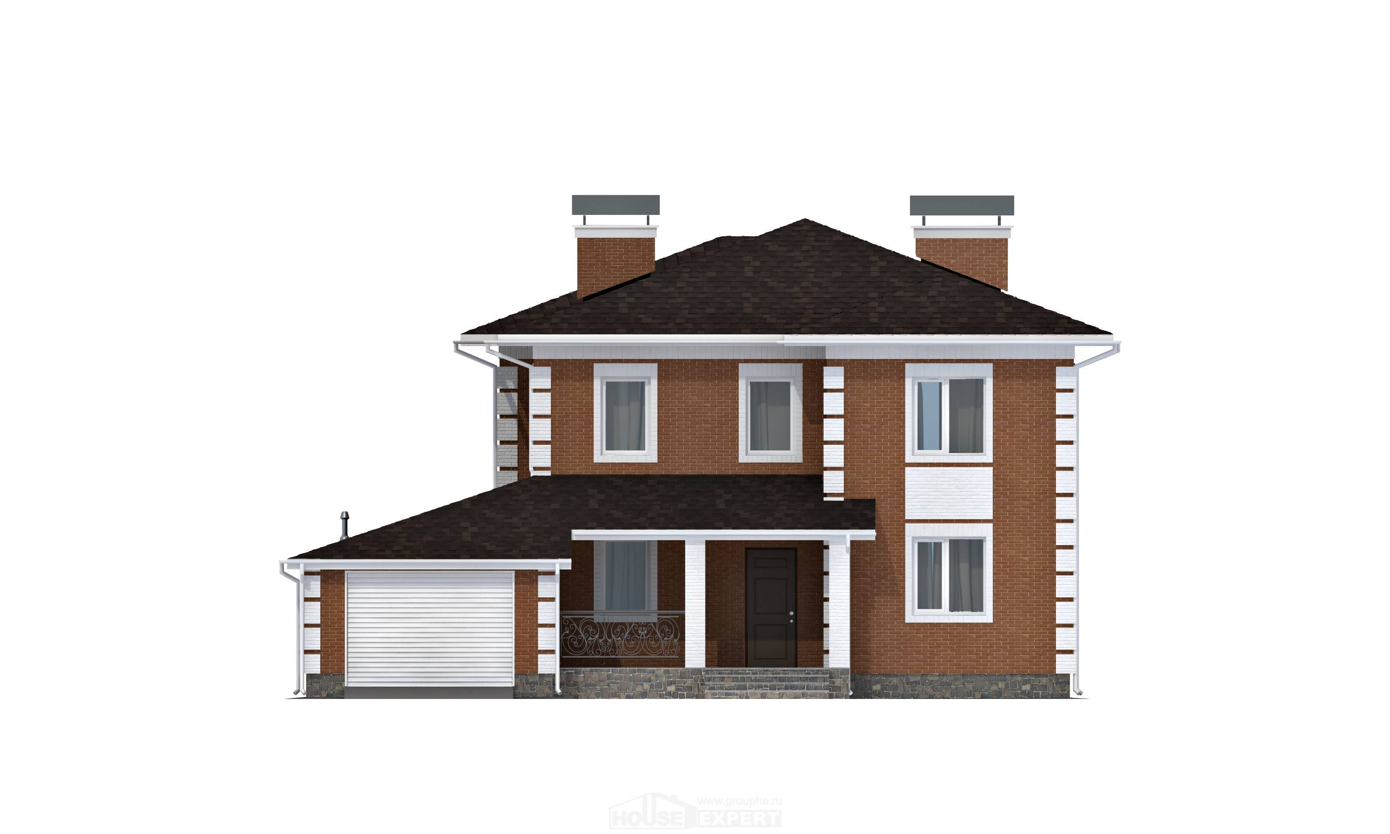 220-004-L Two Story House Plans and garage, best house Home Blueprints,