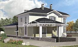 620-001-L Three Story House Plans with garage, big Plan Online, House Expert