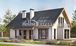 185-005-R Two Story House Plans and mansard and garage, beautiful Woodhouses Plans,