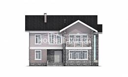 170-008-R Two Story House Plans, classic Custom Home,