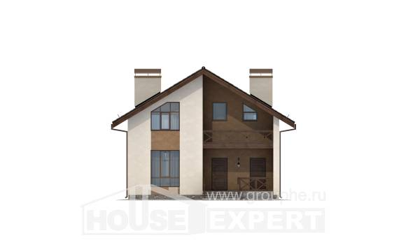 170-002-R Two Story House Plans and mansard, available Ranch, House Expert