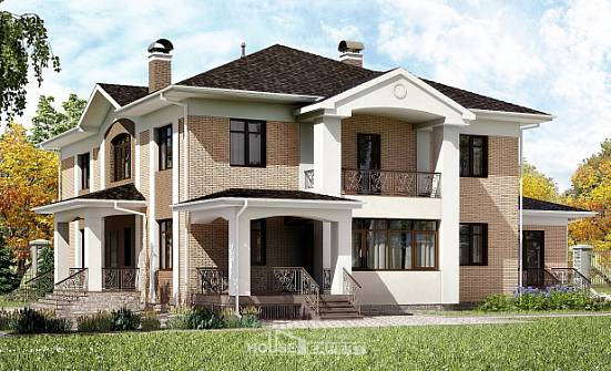 520-001-R Three Story House Plans, beautiful Woodhouses Plans,