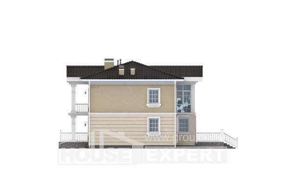 210-005-L Two Story House Plans, classic Plans To Build,