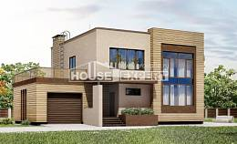 220-003-L Two Story House Plans with garage, best house Drawing House