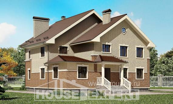 300-004-L Two Story House Plans, luxury Architectural Plans,