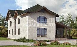 340-004-L Two Story House Plans, modern Woodhouses Plans,