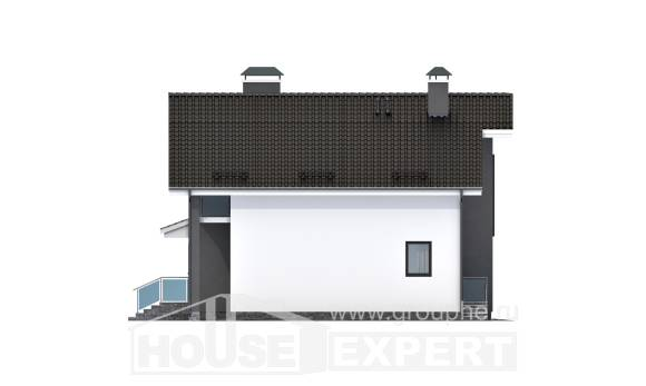 150-005-L Two Story House Plans and mansard, best house Tiny House Plans