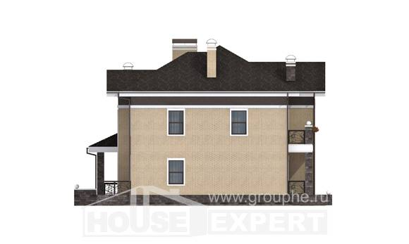 200-006-R Two Story House Plans, beautiful House Building, House Expert