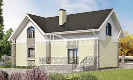 150-012-R Two Story House Plans with mansard roof, best house Woodhouses Plans,