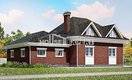 290-002-R Two Story House Plans with garage under, beautiful Construction Plans, House Expert
