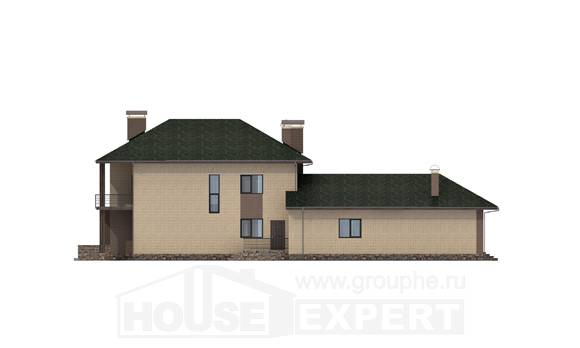 305-003-R Two Story House Plans, modern Drawing House, House Expert