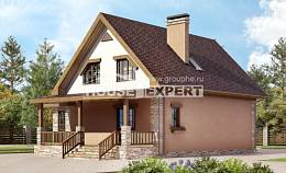 140-002-R Two Story House Plans and mansard, the budget Architectural Plans, House Expert